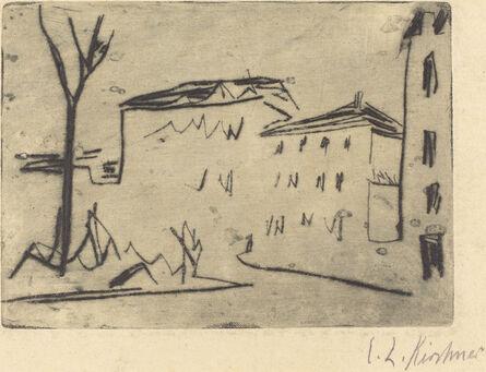 Ernst Ludwig Kirchner, 'Street Corner in Dresden (Strassenecke Dresden)', 1909