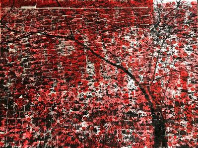 Ardan Özmenoğlu, 'Post-it Leaves Red', 2019