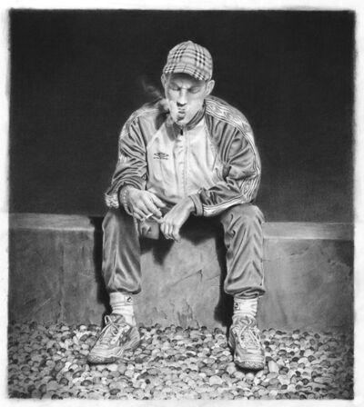 David Haines, 'Boy smoking', 2014