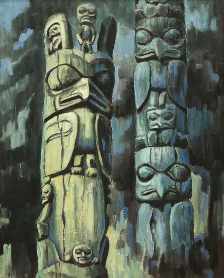 Nell Bradshaw, 'Kispiox Totems', c. 1970