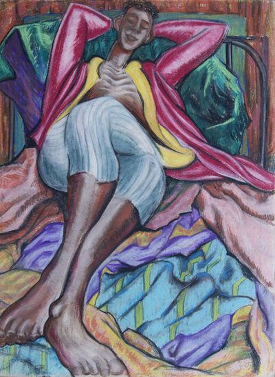 Joseph Plaskett, 'Untitled (figure resting) ', 1945