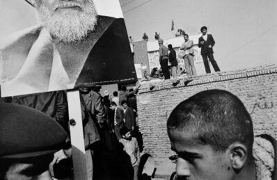Gilles Peress, 'Pro-Sharvatmadari', 1980