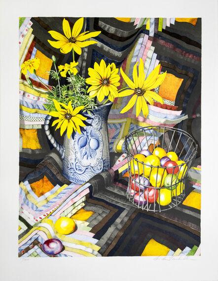 Sondra Freckelton, 'Plums and Gloriosa Daisies', 1980