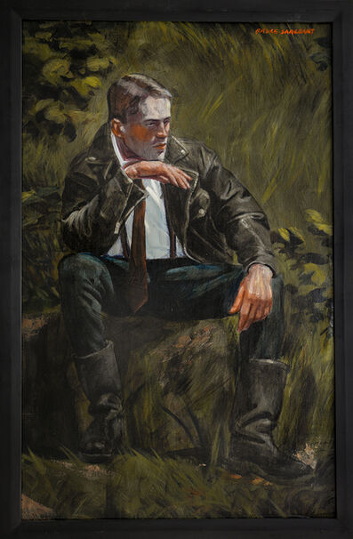Mark Beard, '[Bruce Sargeant (1898-1938)] Black Leather Jacket and Black Leather Boots', n.d.