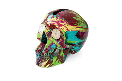 Damien Hirst, 'The Hours Spin Skull', 2009