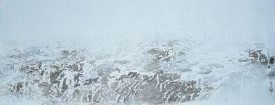 Liu Kuo-sung 刘国松, 'Grass Lake Covered With Snow', 2009