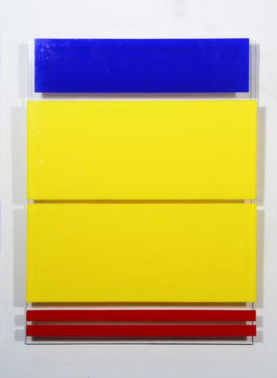 Waldo Balart, '2 rectángulos amarillos', 1982