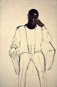 Alice Neel, 'James Hunter Black Draftee', 1965