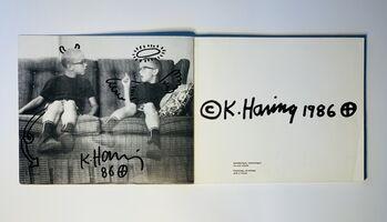 Keith Haring, ''Devil & Angel' (Stedelijk Museum catalogue original drawing)', 1986