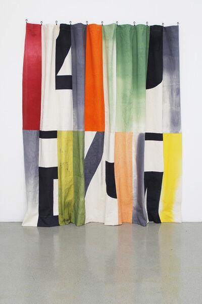 Pia Camil, 'Espectacular telón (I)', 2013