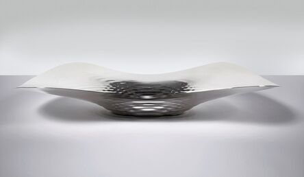 Zaha Hadid, 'Centrepiece 'Sterling Silver Liquid Glacial'', 2016