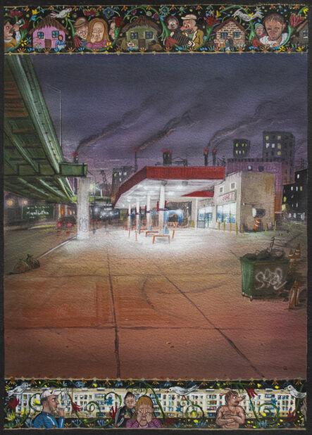 Stipan Tadić, 'The Gas Station', 2021