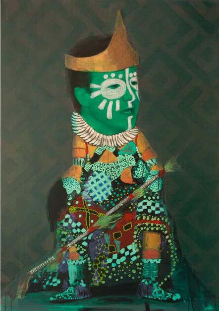Pathy Tshindele, 'Untitled', 2012