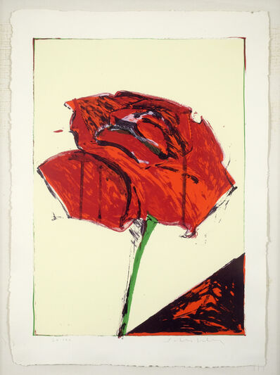 Fritz Scholder, 'Rose', 1983