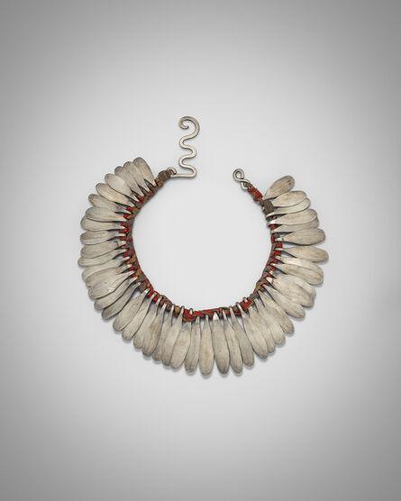 Alexander Calder, 'Silver and Cloth Necklace', ca. 1942