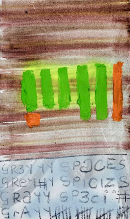 Gresham Tapiwa Nyaude, 'Grey Spaces (Gore 23)', 2021
