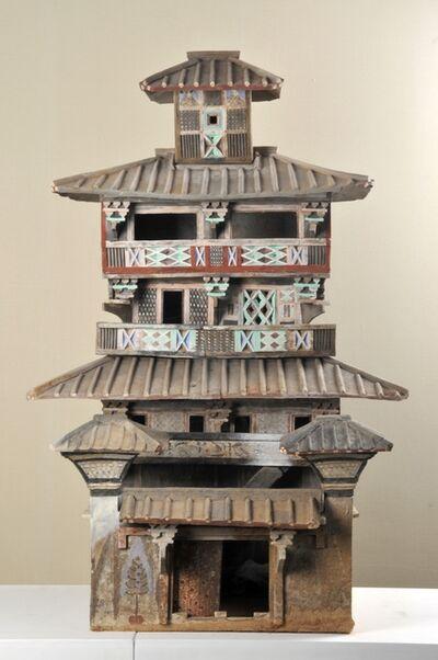 'Model of a five-level granary', 25 -220 AD