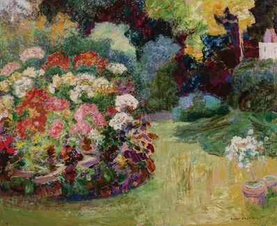 Victor L. Charreton, 'Garden in Bloom'