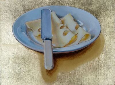 Cynthia Poole, 'Plate of Cheese'