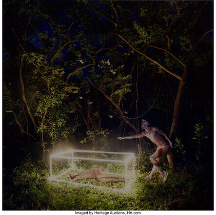 David LaChapelle, 'First I need your hand, then forever can begin', 2009