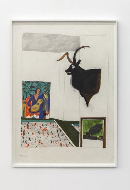 Marie Jacotey, 'Deer, Matisse and Miro', 2015