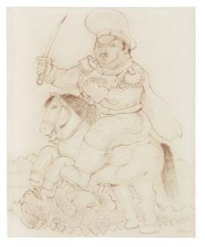 Fernando Botero, 'Untitled (St. George)', 1983