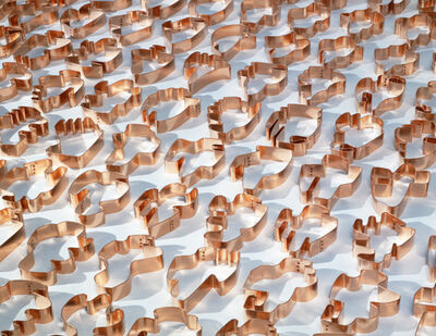 Allan McCollum, 'The Shapes Project: Shapes From Maine Shapes Copper Cookie Cutters', 2005/2008