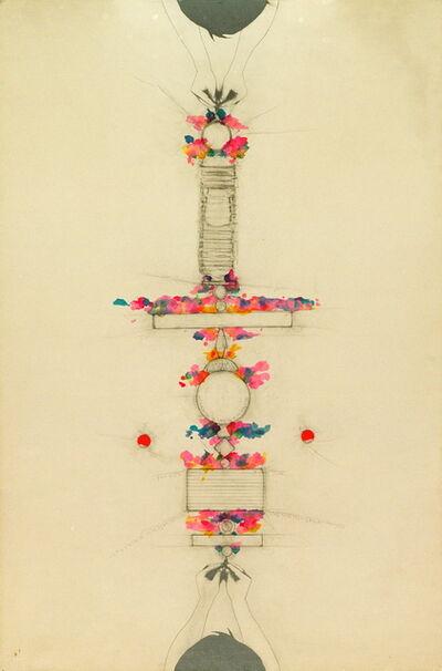 Alighiero Boetti, ' Tra sé e sé,  (Between self and self)', 1987