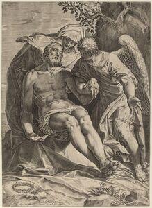 Agostino Carracci, 'Pietà', 1582