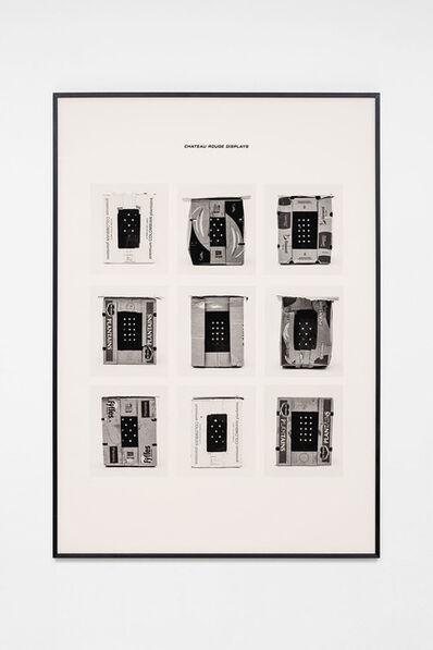 Jojo Gronostay, 'Chateau Rouge Displays V', 2020