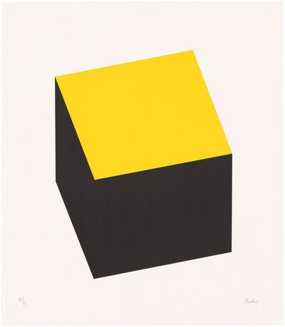 Ellsworth Kelly, 'Yellow/Black', ca. 1970