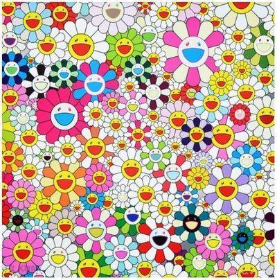 Takashi Murakami, 'Maiden in The Yellow Straw Hat', 2010