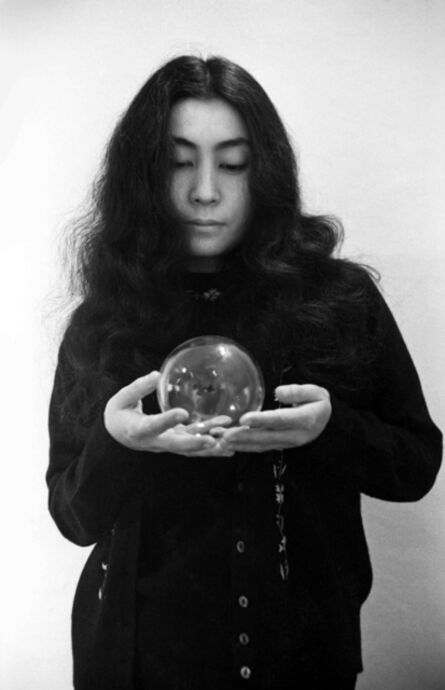 Clay Perry, 'Yoko Ono (with glass sphere) ', 1967