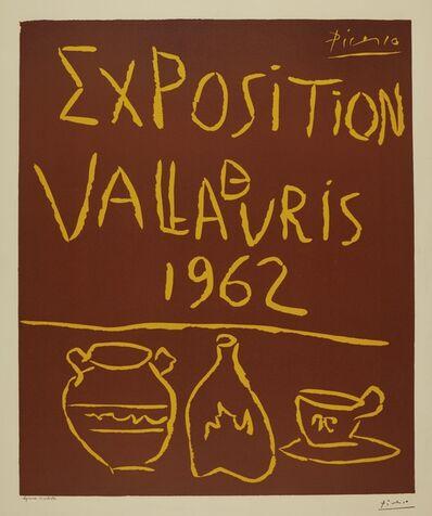 Pablo Picasso, 'Exposition de Vallauris 1962 (B. 1299; Ba. 1335)', 1962