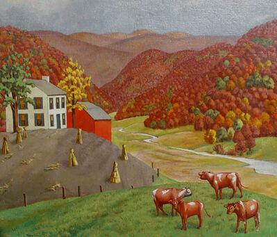 Molly Luce, 'Autumn Farm', 1930