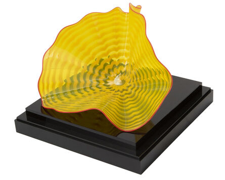 Dale Chihuly, 'Persian glass bowl'