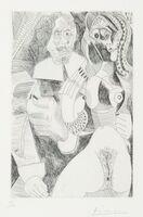 Pablo Picasso, 'Plate 225, from La série des 347 gravures', 1968
