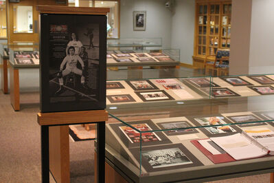 Judy Chicago, 'Installation view, Challenge Yourself: Judy Chicago's Studio Art Pedagogy. The Eberly Family Special Collections Library, Paterno Library'