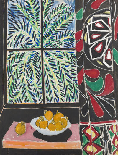 Henri Matisse, 'Interior with Egyptian Curtain', 1948