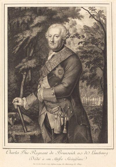 Antoine de Marcenay de Ghuy, 'Charles Duc Regnant de Brunswick'