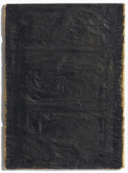 Arnulf Rainer, 'Untitled (schwarze Zumalung)', 1957
