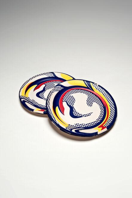 Roy Lichtenstein, 'Paper Plates (Set of 10)', 1969