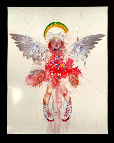 Antony Micallef, 'ANTONY MICALLEF 21ST CENTURY LOVE LA SHOW PRINT', 2005