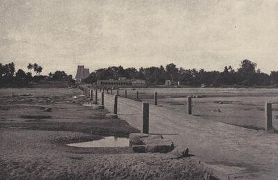 Linnaeus Tripe, 'Madura: The Vygay River, with Causeway, across to Madura', January-March 1858