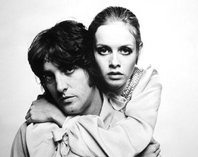 Bert Stern, 'Twiggy and Justin', 1967