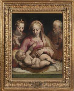 Prospero Fontana, 'Holy Family with Saint Catherine of Alexandria', 1545-1555