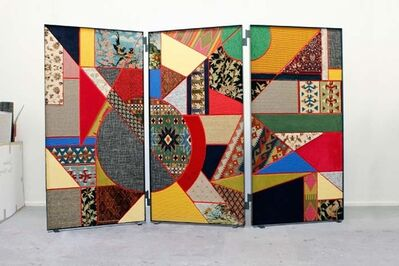 Nevin Aladağ, 'Paravent / Social Fabric #2', 2012