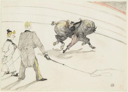 Henri de Toulouse-Lautrec, 'At the Circus: Acrobats', 1899