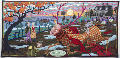 Grayson Perry, 'The Vanity of Small Differences, The Upper Class at Bay or an endangered species brought down', 2012