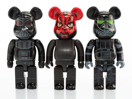 BE@RBRICK, 'Group of Three Star Wars 400% Be@rbricks', 2015-17